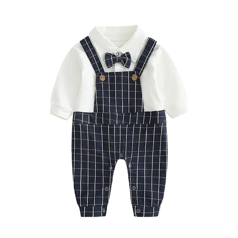 Sayang Gentleman Katun Bayi Baru Lahir Seolah-olah Dua Potongan Baju Pergi Anak