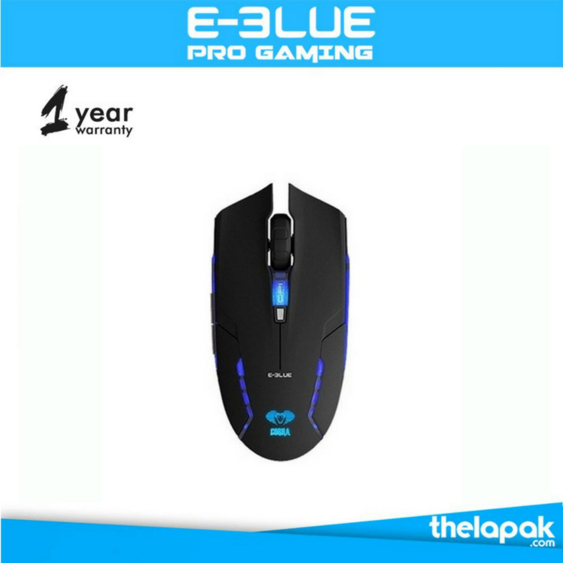 Harga E Blue Cobra Gaming Mouse Junior Ii Hitam Asli E Blue