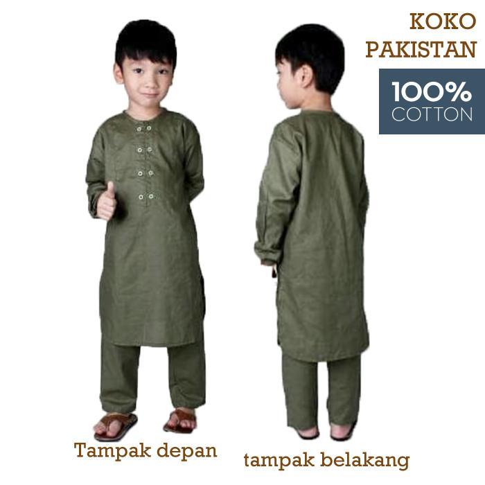 Cek Harga Baru Koko Turki Anak Baju Muslim Anak Laki Laki Baju Koko