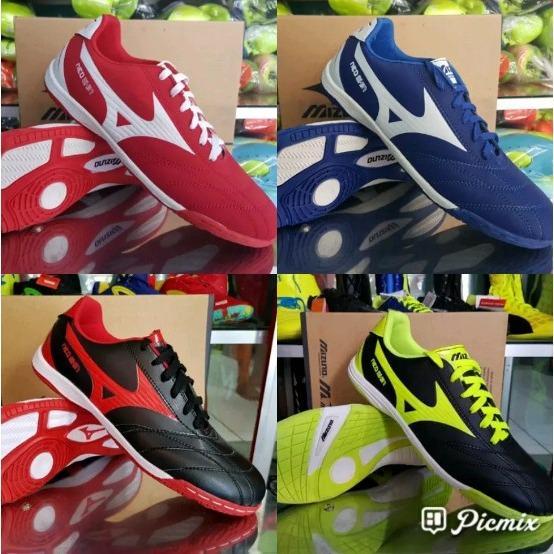 Sepatu Futsal 4 Warna Red Blue Black Sol Depan Sudah Di Sol