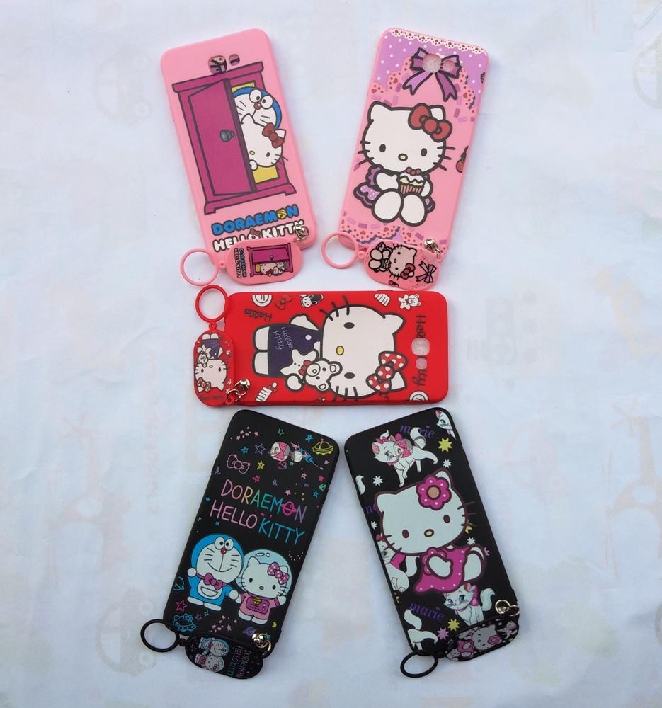... Samsung J7 Prime Softcase Gambar Hello Kitty Free Gantungan Lucu - 3