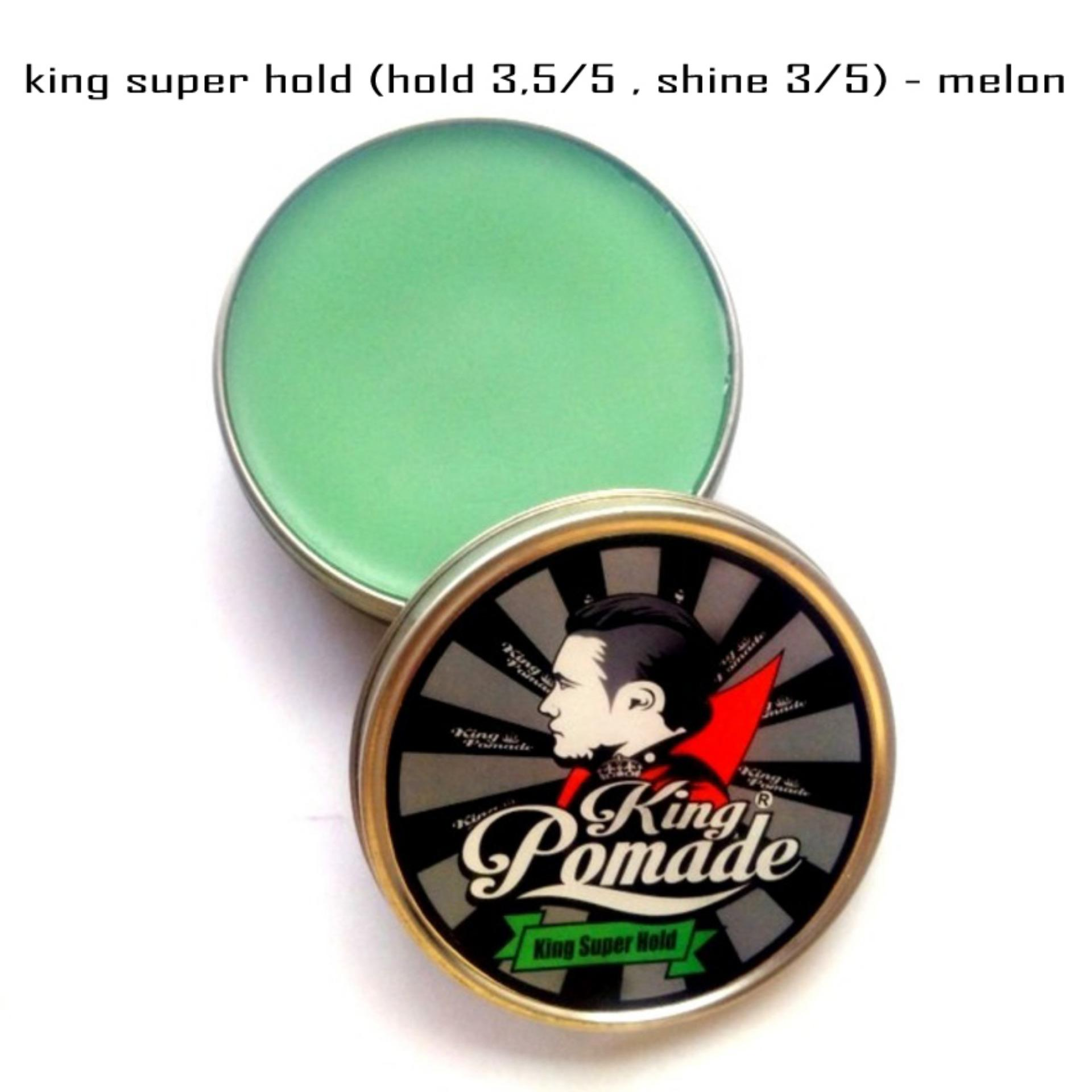 Harga King Pomade 2 8Oz 80Gram Super Hold Oilbased New
