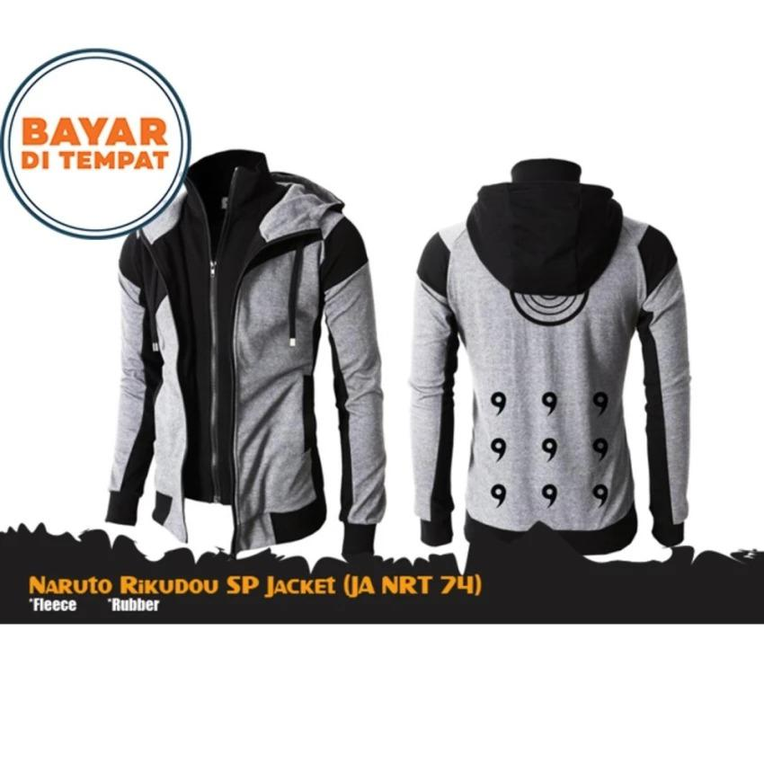 Beli Digizone Jaket Hoodie Double Zipper Anime Naruto Rikudou Ja Nrt 74 77 Best Seller Black Indonesia