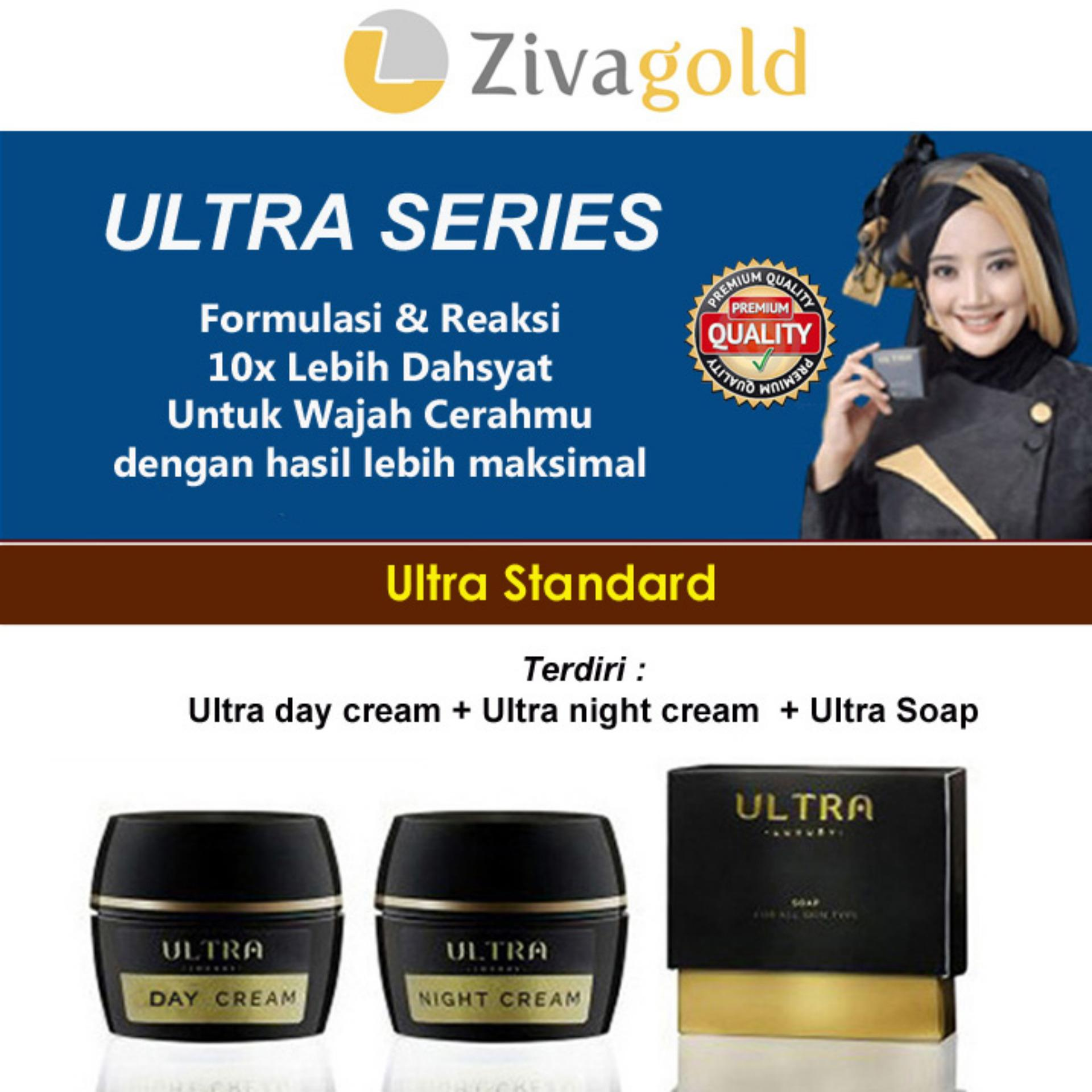 Zivagold Ultra Standard Formulasi Reaksi 10X Lebih Cepat Bpom Resmi Original