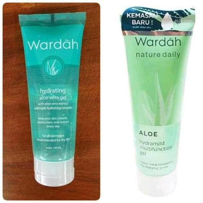 Wardah Hydrating Aloe Vera Gel 100 Ml