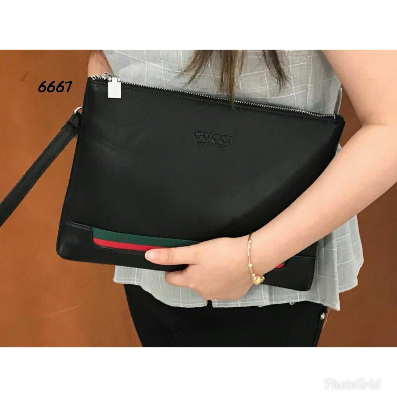 Clutch Gucci Big Size 6667 6668 Fashion Wanita Tas Import Grosir Dompet  Clutches Handbag Trendy . 6758e9eb6b