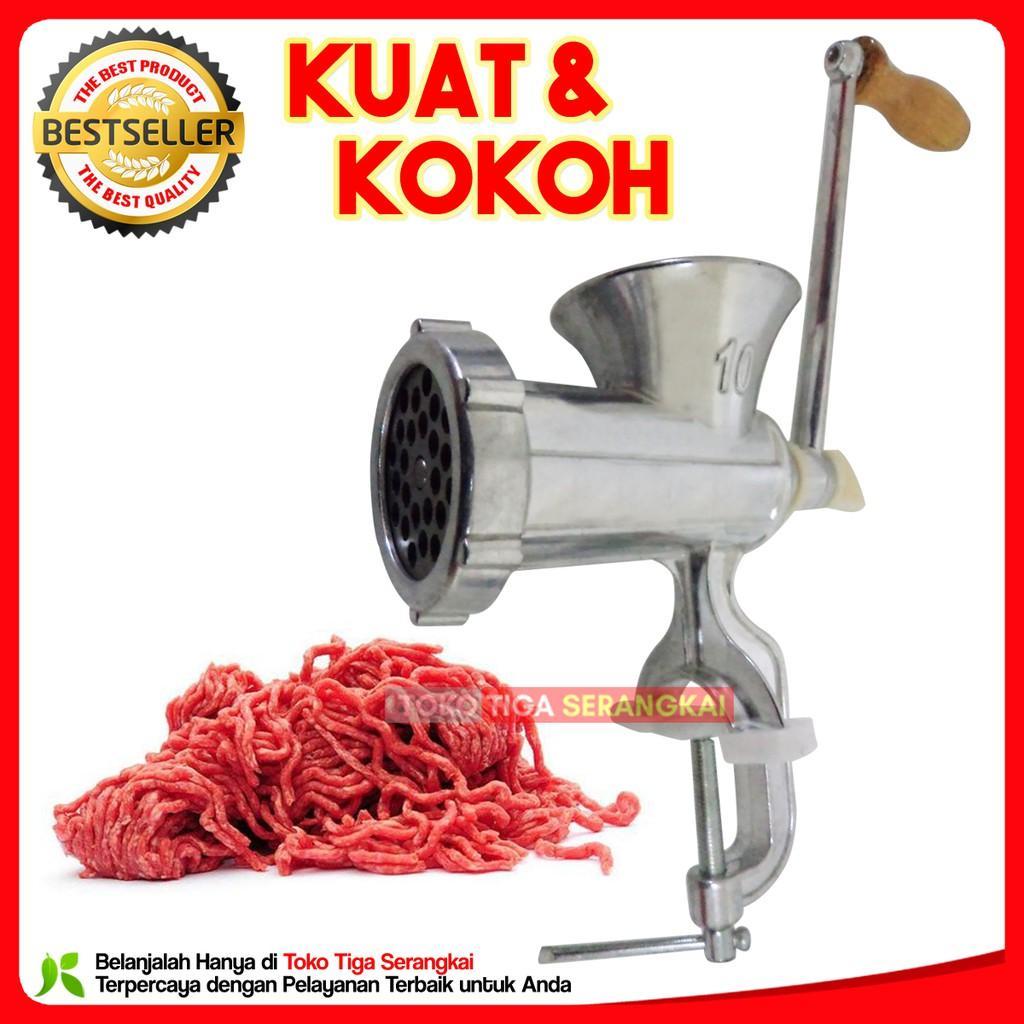 Buy Sell Cheapest Junzilan Meat Grinder Best Quality Product Deals Alat Penggiling Dagingsayurbuah Manual Gilingan Daging Jcw B10 2