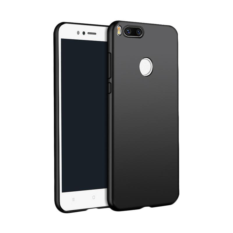 Interesting Soft Case Black Matte Xiaomi MI A1 / 5X Softcase Baby Skin Ultra Slim