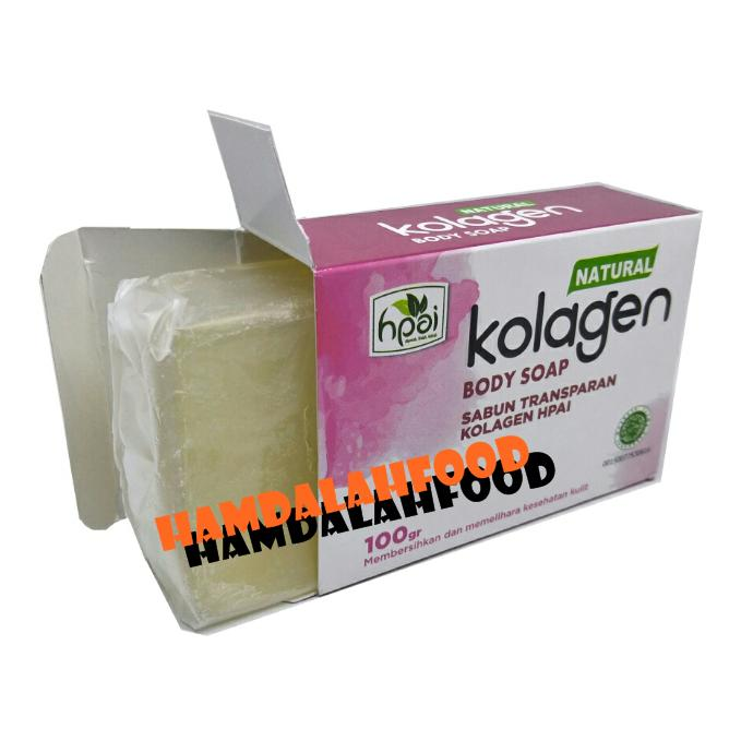 Hamdalahfood Sabun Collagen Natural HPAI 1 Pcs