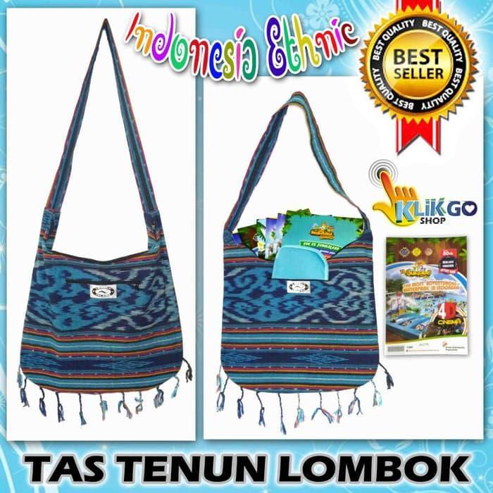 Fitur Tas Etnik Kain Tenun Rajut Lombok Model Selempang Not Tas ... cbd24e9d2e