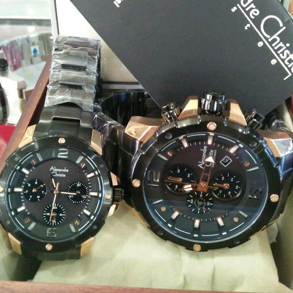 Features Alexandre Christie Ac 6410 Mc Jam Tangan Pria Full Black Original 9205 Couple Rosegold