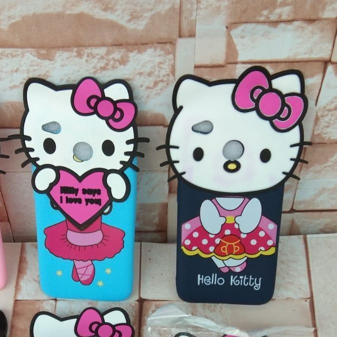 Softcase Karakter Kartun Hello Kitty Xiaomi Redmi 4X / S