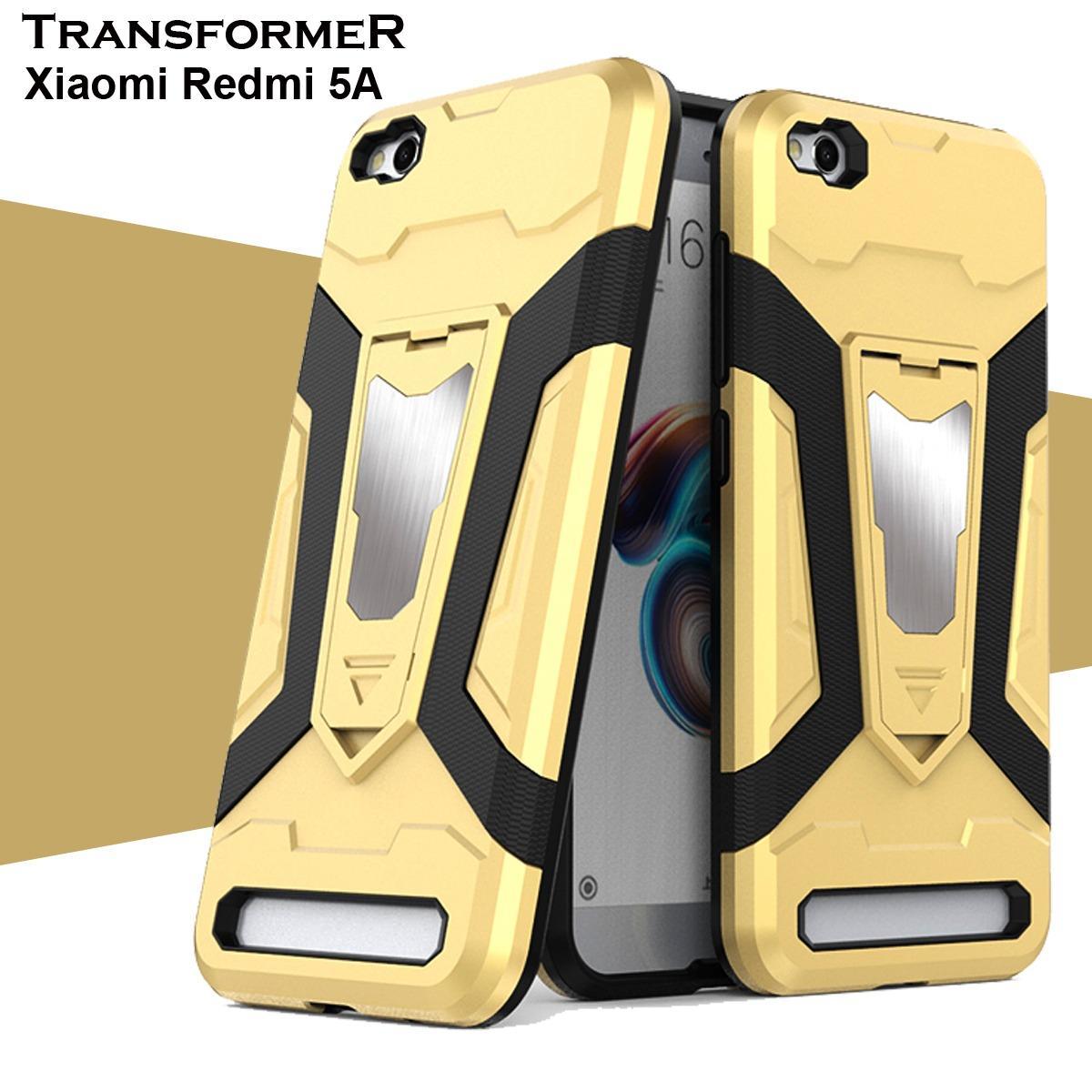 Case Iron Man For Xiaomi Redmi 4a Robot Transformer Ironman Limited Hybrid Standing 5a