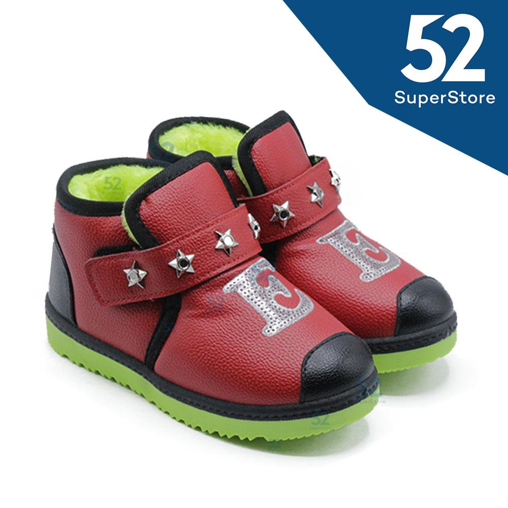 Fitur 52 Fashion Sepatu Sandal Anak Laki 008 Velcro Random 1604 306 Brown Size 26 31 Sport 300 E