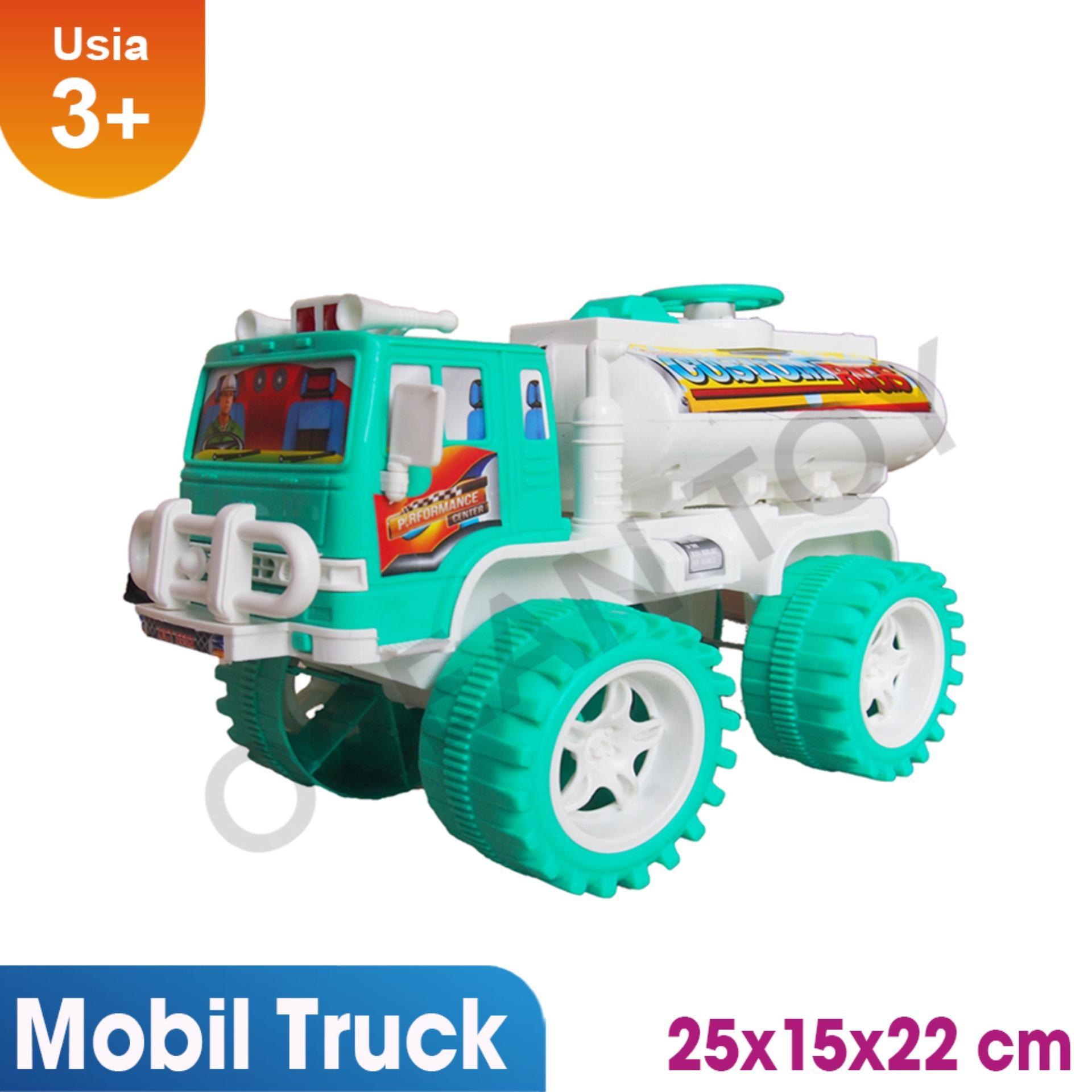 Fitur Ocean Toy Mobil Truk Tangki Mainan Anak Oct5502 Hijau Dan Musical Learning Table 1082