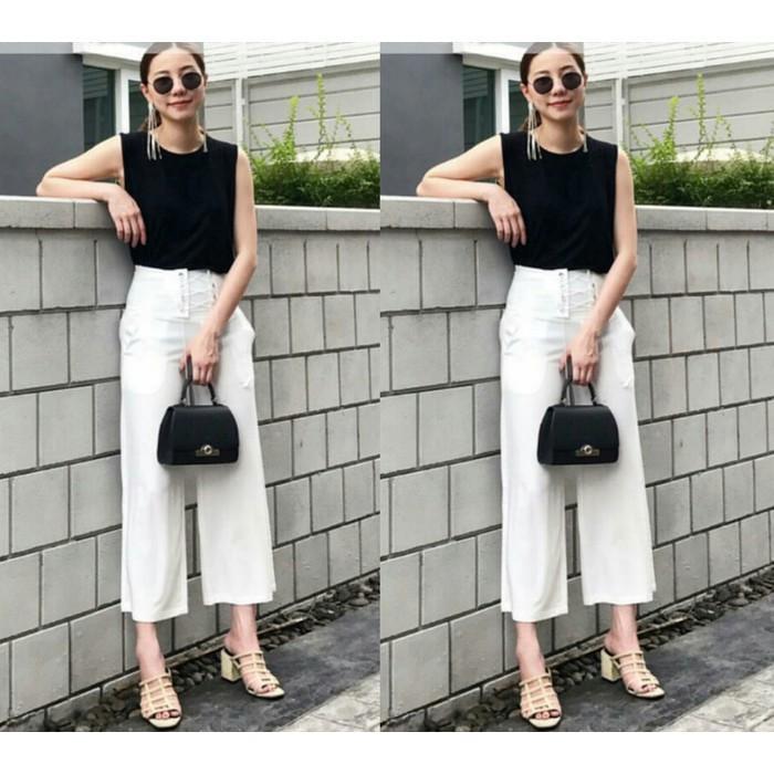 Dijual Kulot Molita White SW  Celana Wanita Baloteli Putih Limited