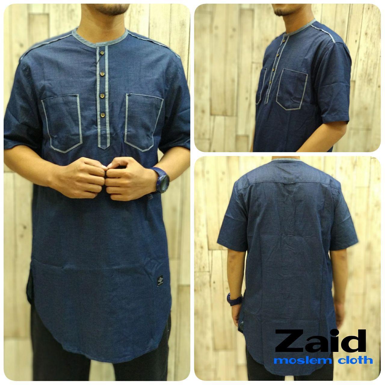 Pakaian Muslim Pria - Baju Gamis Pria - Kurta Pakistan Zaid 008