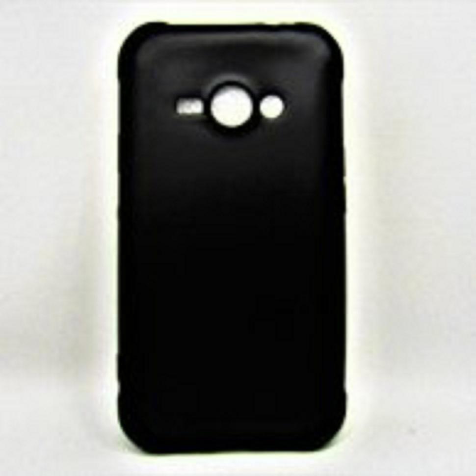 Fitur Case Black Slim Matte Samsung Galaxy J1 Ace Case Glare Sofcase