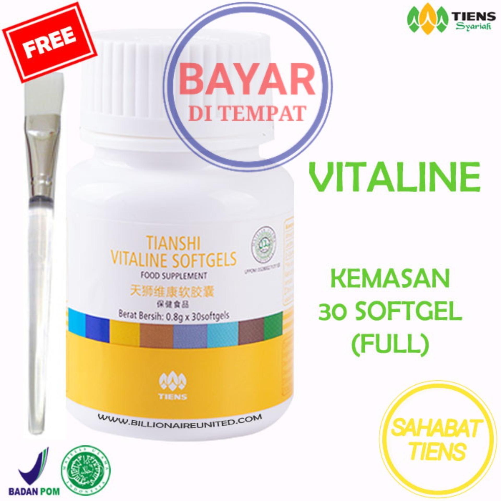 Harga Tiens Vitaline Herbal Vitamin E Pembersih Jerawat Flek 30 Kapsul Gratis Kuas Dan Spesifikasinya