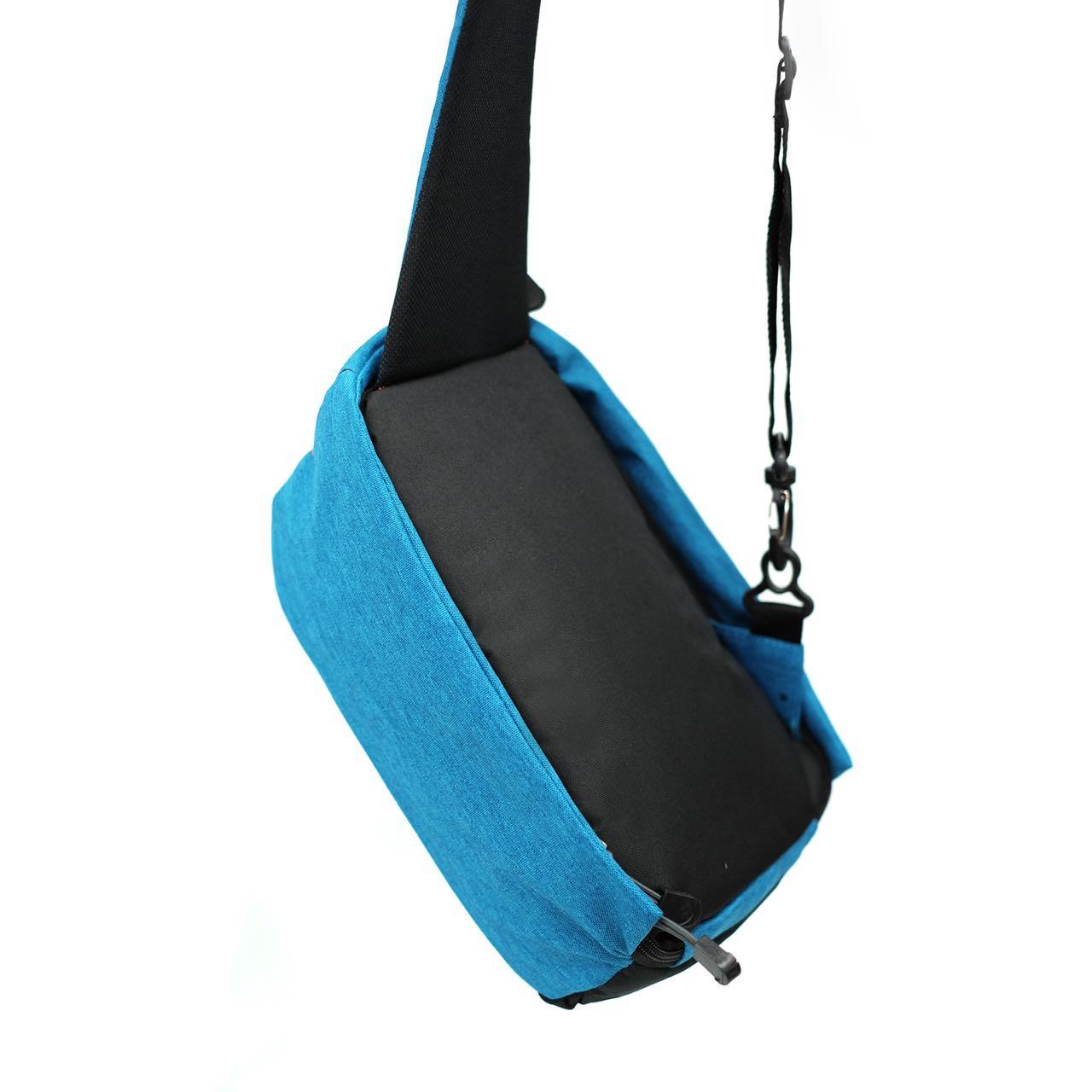 Kelebihan Key Bag Tas Selempang Anti Maling Pria Slingbag Air Terbaru Blue