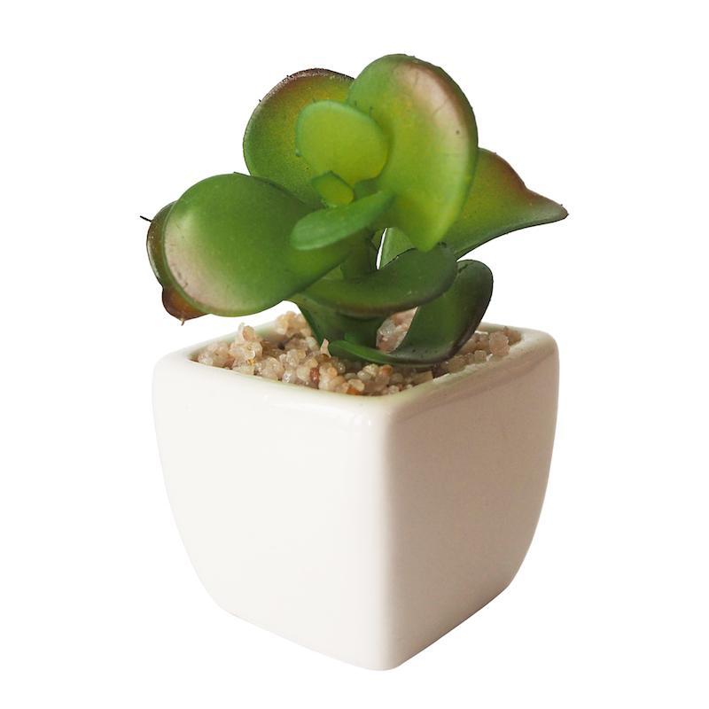 Mendekor Doroyai - tanaman bunga pohon sintetis artifisial hiasan meja unik pot