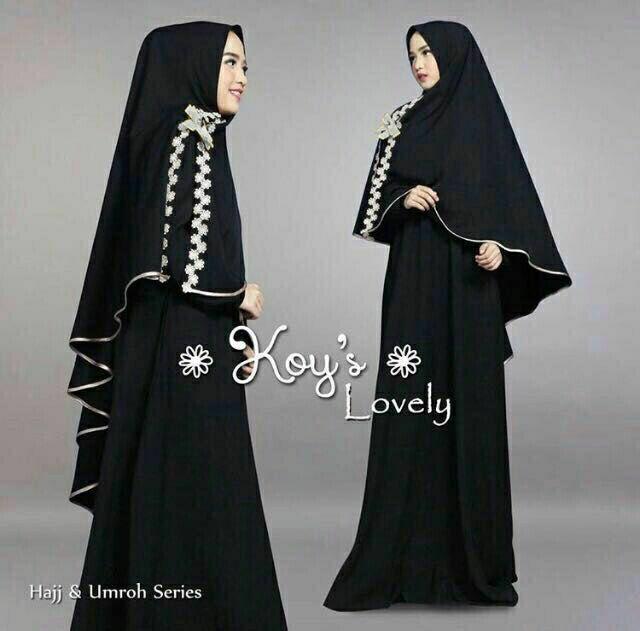 Theclover/Best seller new busana muslim/gamis syari LOVELY