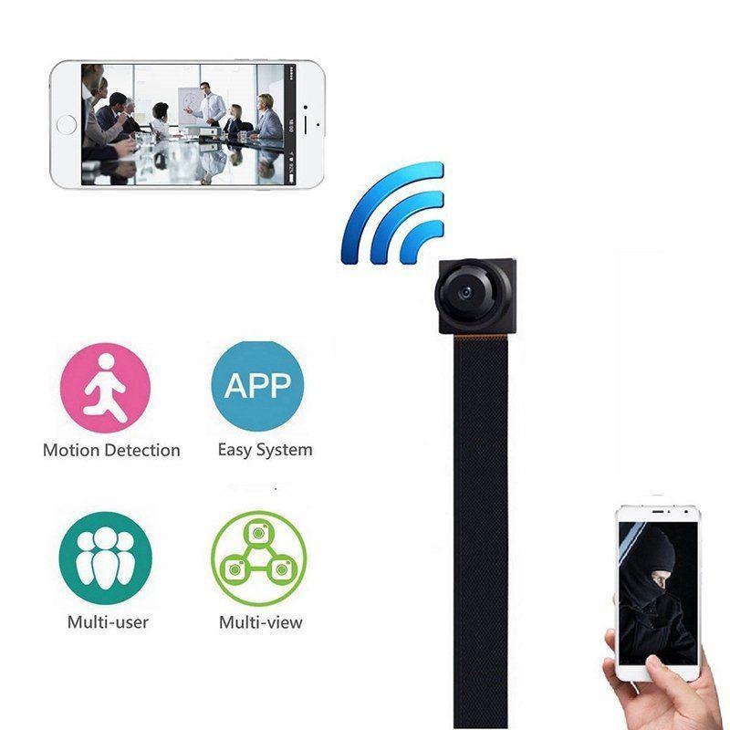 Redcolourful Mini WIFI 1080P HD Security IP Camera Wireless DIY Module DV DVR NVR Nanny Cam