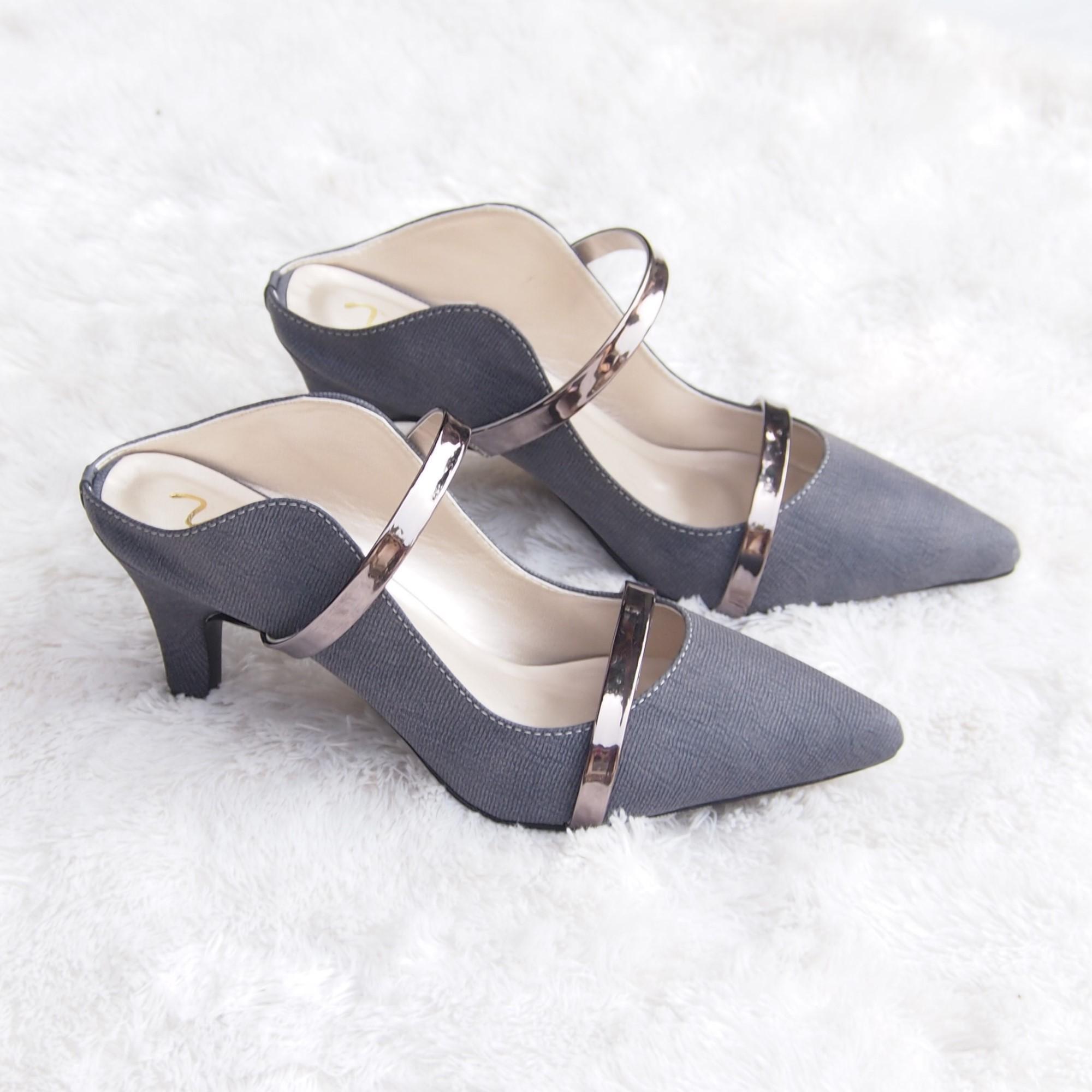 Pumps Shoes - Sepatu Hak Tinggi Kualitas Premium YLR16-1 - 3 .