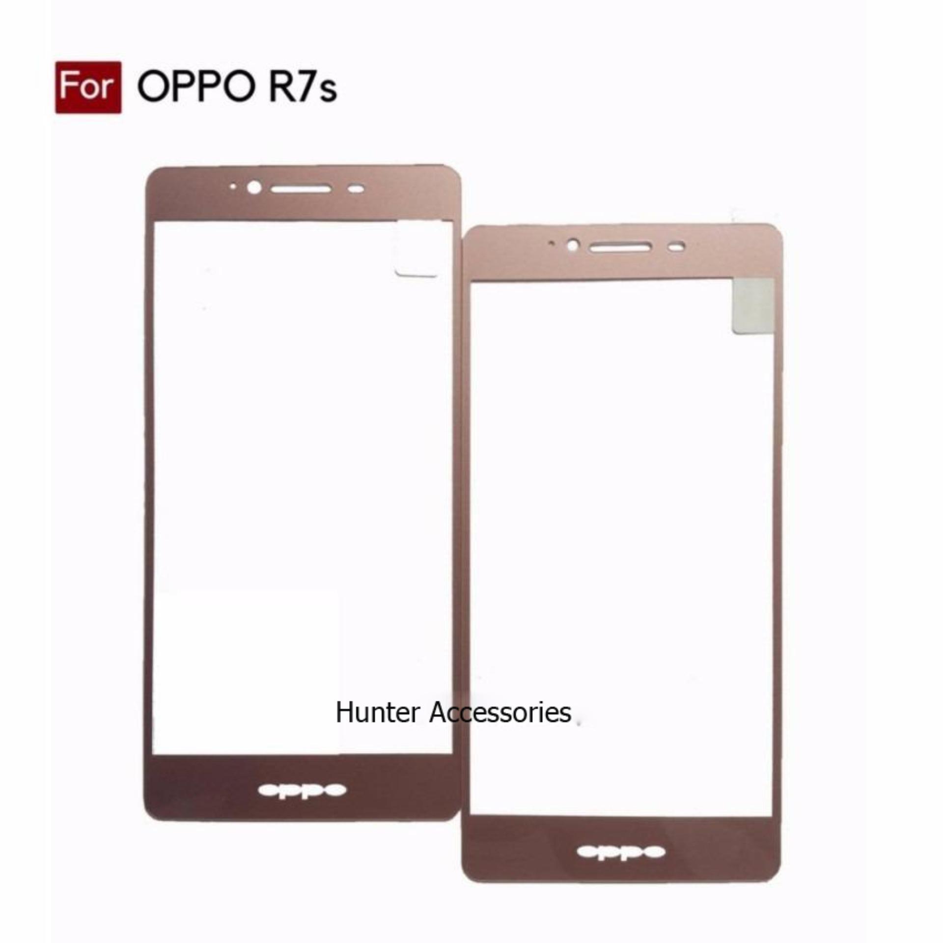 Fitur Tempered Glass Oppo Find X Anti Gores Screen Protector Dan 5 Mini Putih Kaca R7s Mawar