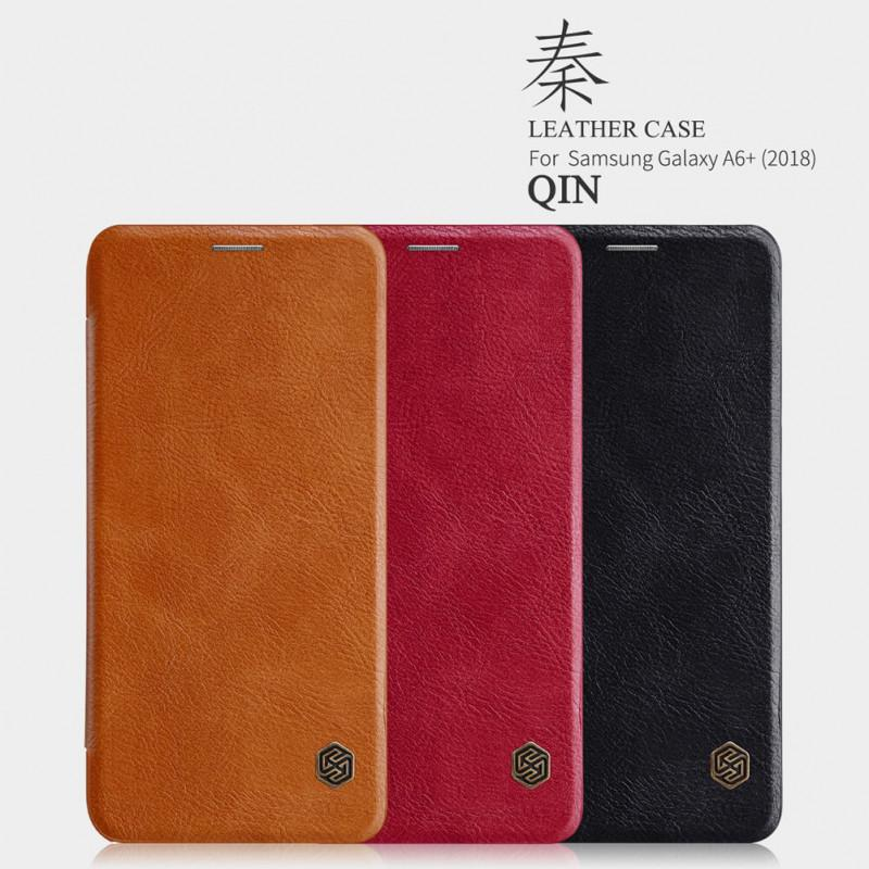 Nillkin Flip Case (Qin Leather Case) - Samsung Galaxy A6 Plus (2018)