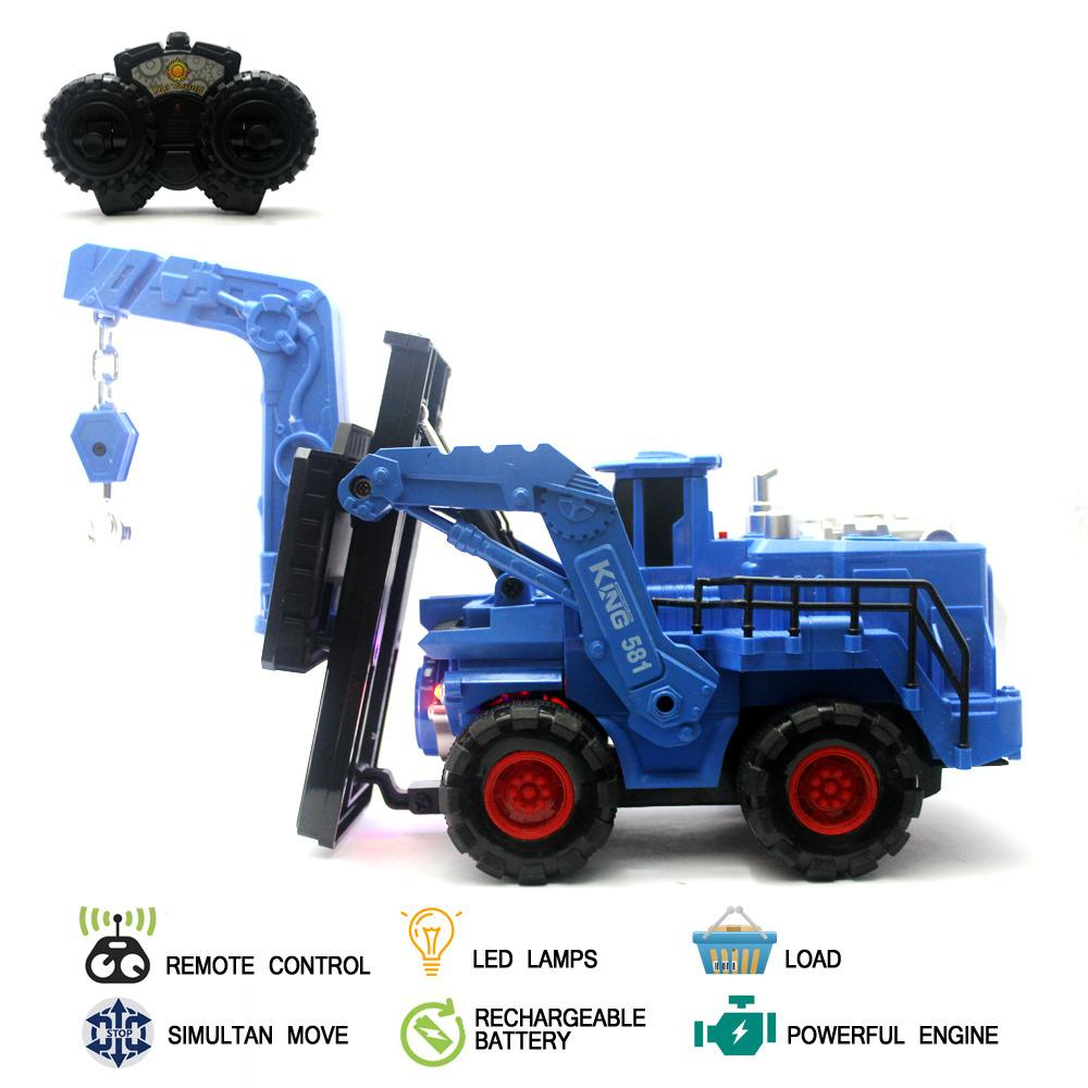 ... Mainan Mobil Remote Control RC Lifter Truck - 3 ...