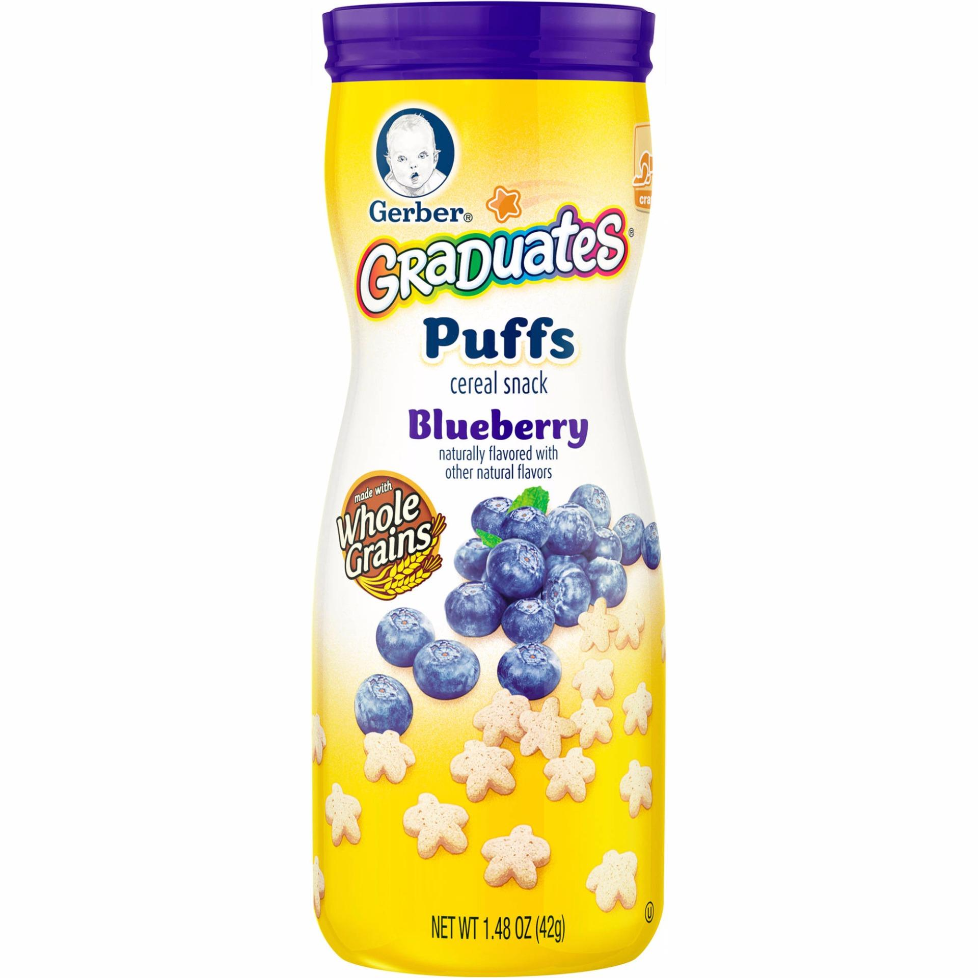 Beli Gerber Graduates Snack Puff Blueberry 42 Gr Kredit Indonesia