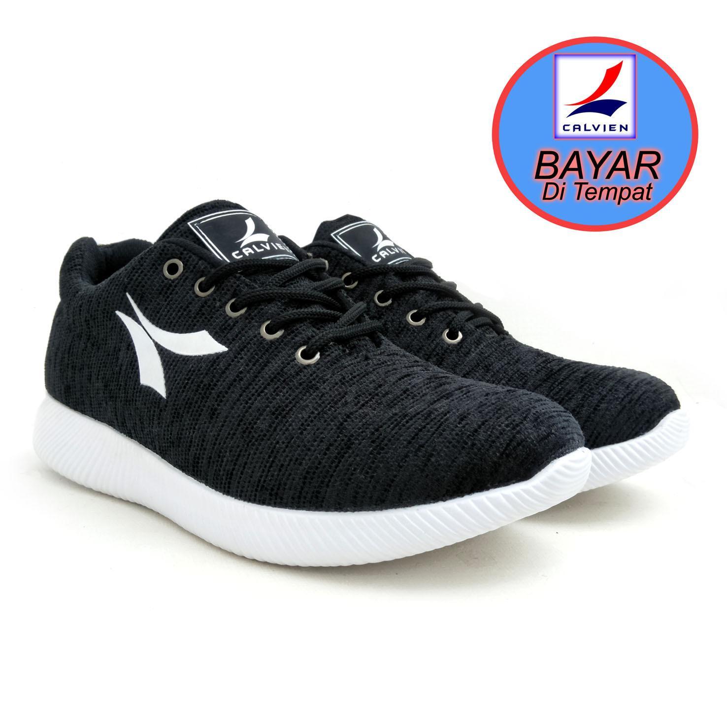 Daftar Harga Calvien Sepatu Pria Sneakers Sepatu Pria Kets Sepatu Olah Raga Sepatu Kasual Kode Cl 03 Calvien