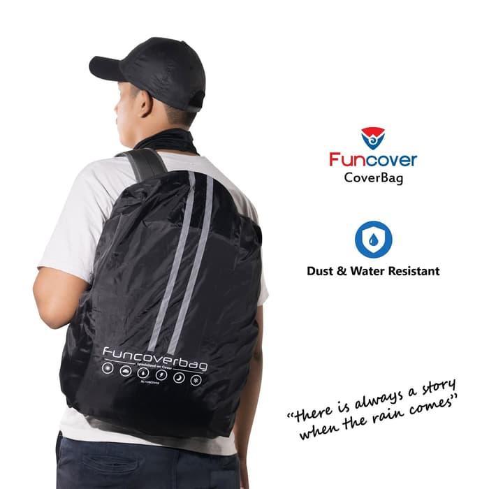 ... Cover Bag anti air sarung penutup tas kerja backpack raincoat bag anti air