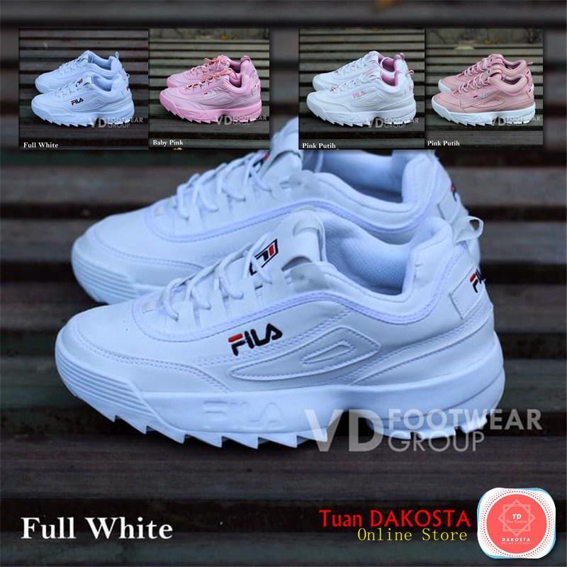 Sepatu Sneakers Fila Disruptor Ii White Pink Cewek - Wiring Diagram ... 5fa73735e6