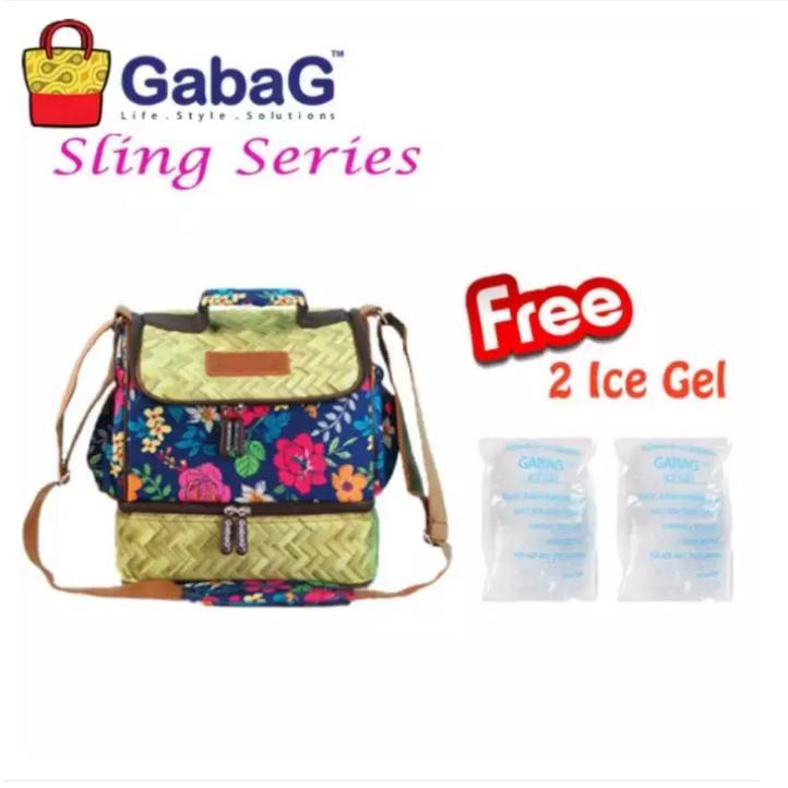 Spesifikasi Gabag Cooler Bag Coolerbag Big Bamboo Tas Penyimpan Asi Asip Thermal Bag Murah