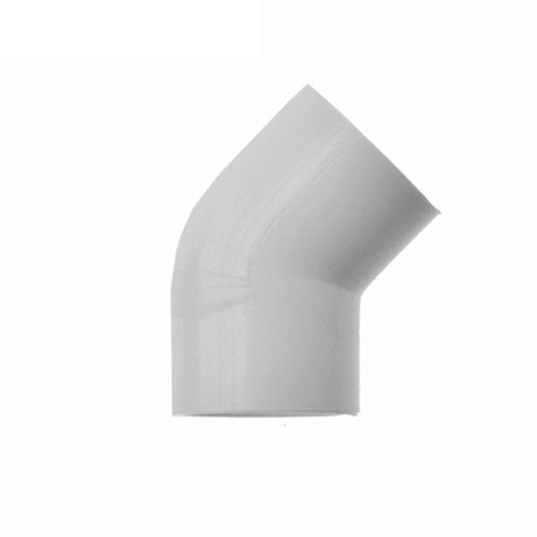 Bibit Bunga Elbow 45 Derajat Food Grade (Impor) – 34mm / Pipa 1″ Ukuran LN
