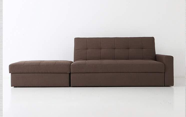 [ FREE SHIPPING JABODETABEK ] SOFA BED PUFF SEAT AVAILABLE 2 COLOUR