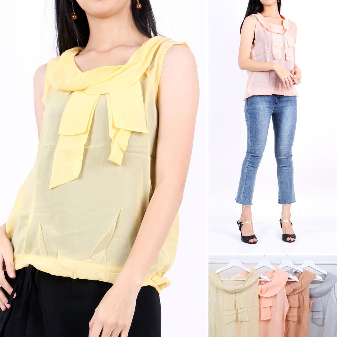 Oma Fashion Jordane Sleeveless 4 wrna-Size M
