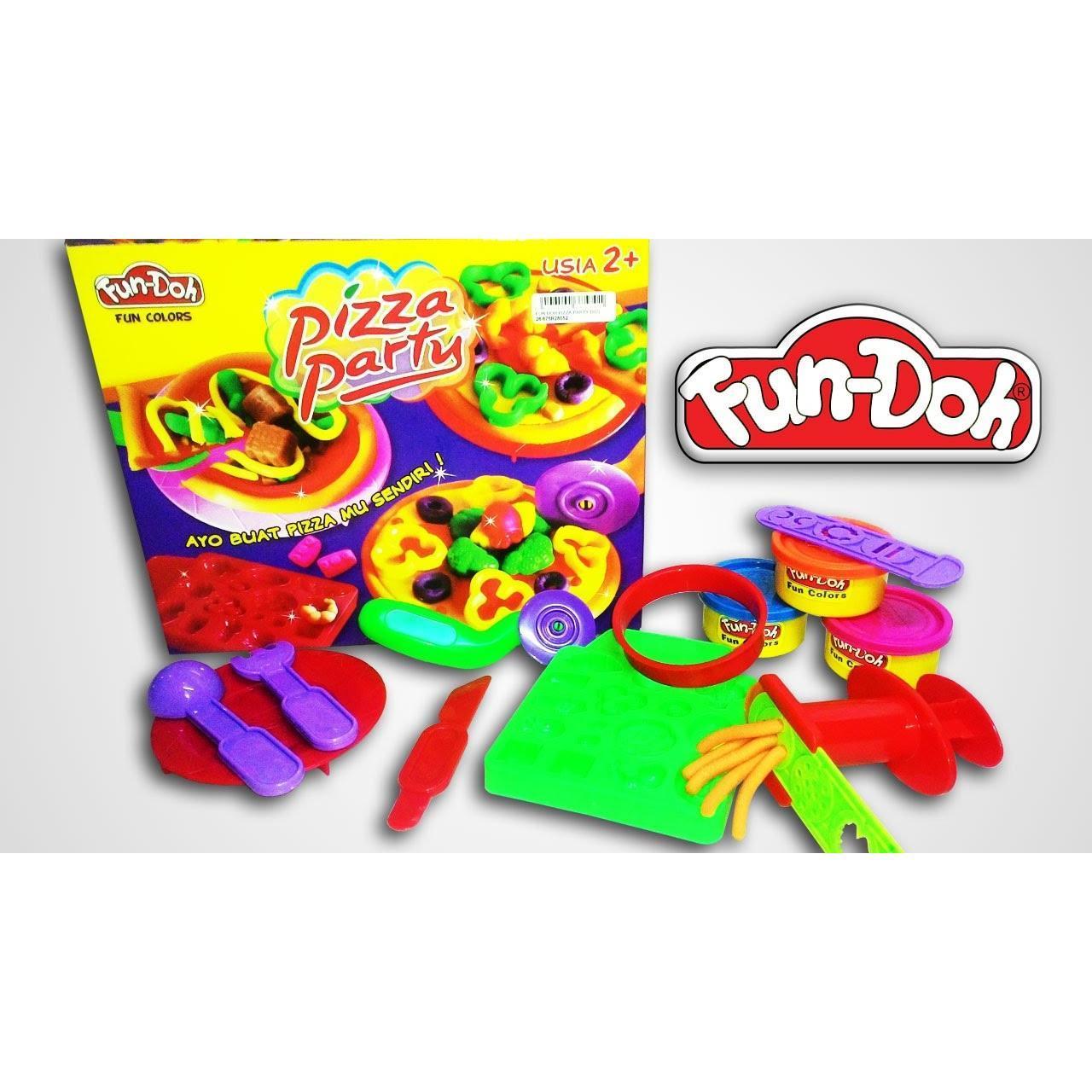 Kelebihan Obral Murah Mainan Anak Dream Pizza Kit Koper Fun Doh Grill Set Edukasi Party Lilin 28052