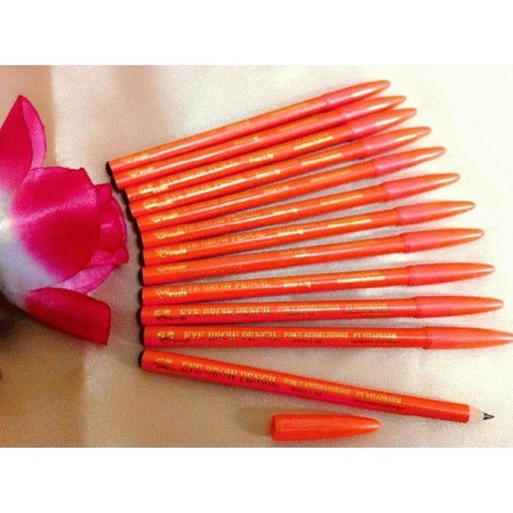 Fitur Original Pensil Alis Viva Eye Brow Pencil Dan Harga Terbaru Queen Eyebrow 100 4