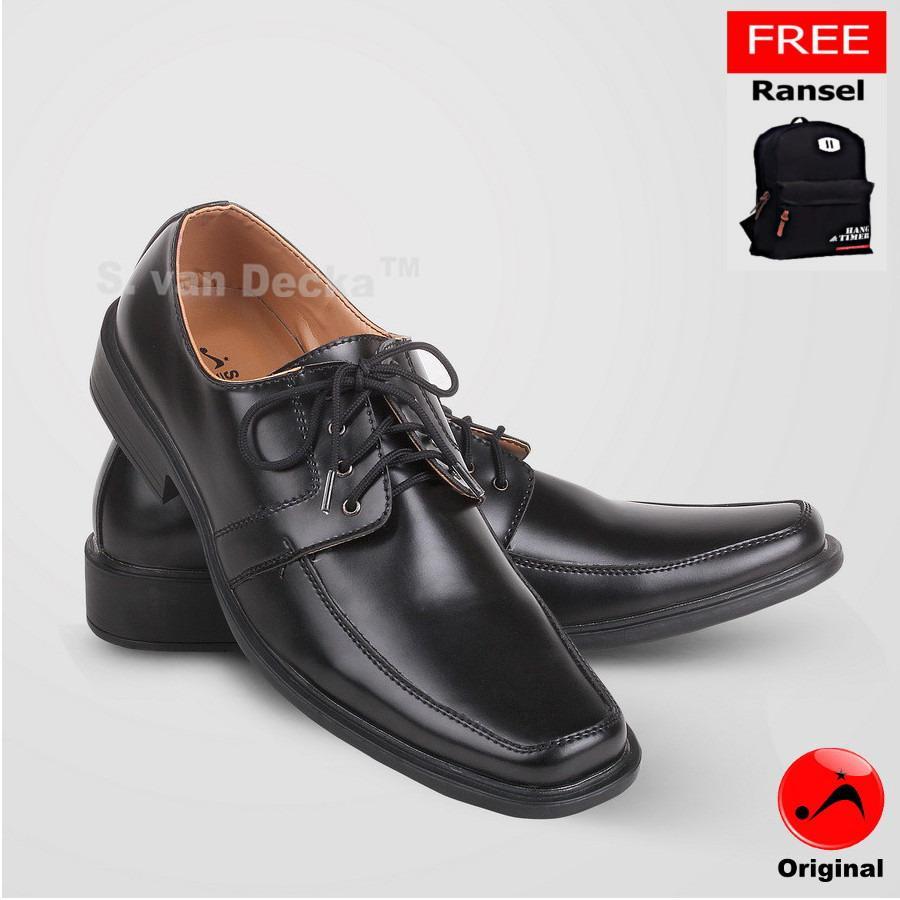 Ulasan S Van Decka R Xtk019 Sepatu Kasual Pria Hitam Gratis Tas Ransel