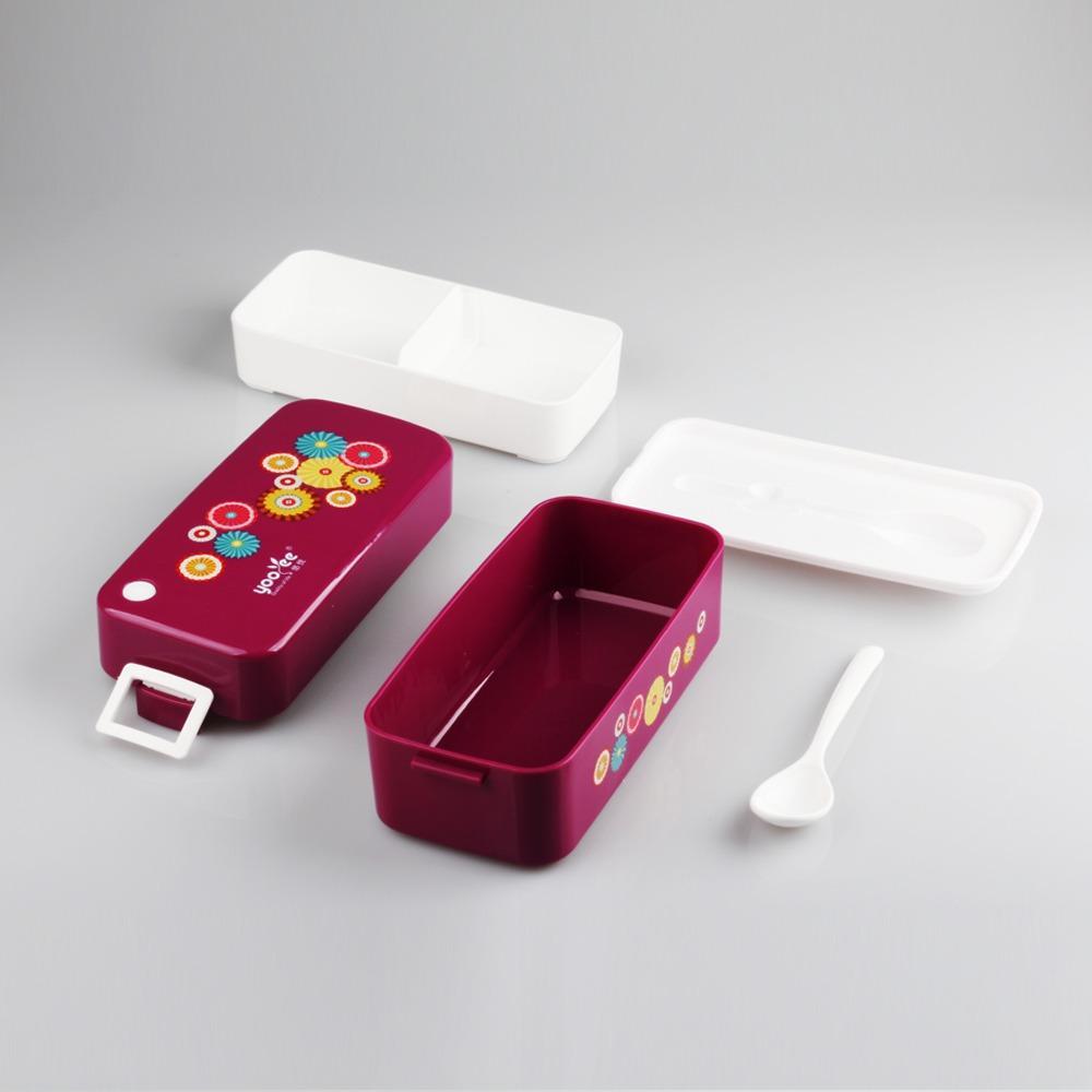Fitur Lunch Box Set Tempat Kotak Makan Bpa Free Yooyee 596 Dengan Tas 5