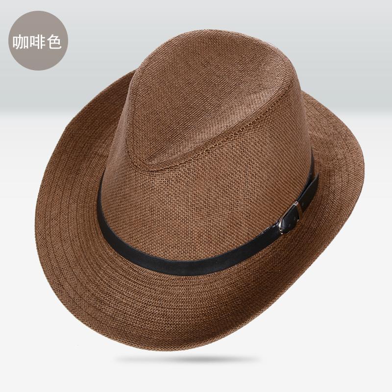 Model baru Jerami Topi sulap Luar rumah modis topi Pelindung Sinar Matahari Musim semi dan musim