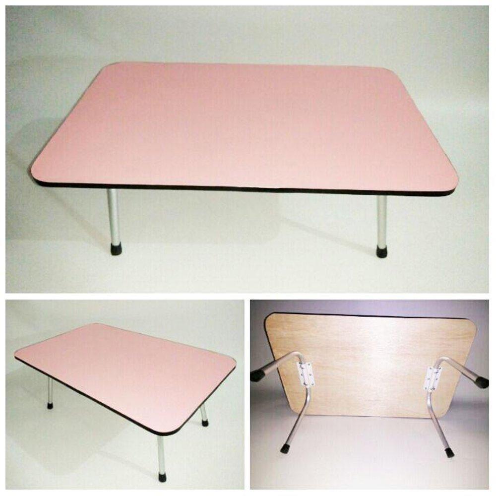 Kelebihan Meja Belajar Foldable Lipat Karakter Sapi Lucu Bahan Portable Pink Untuk Anak Multipleks