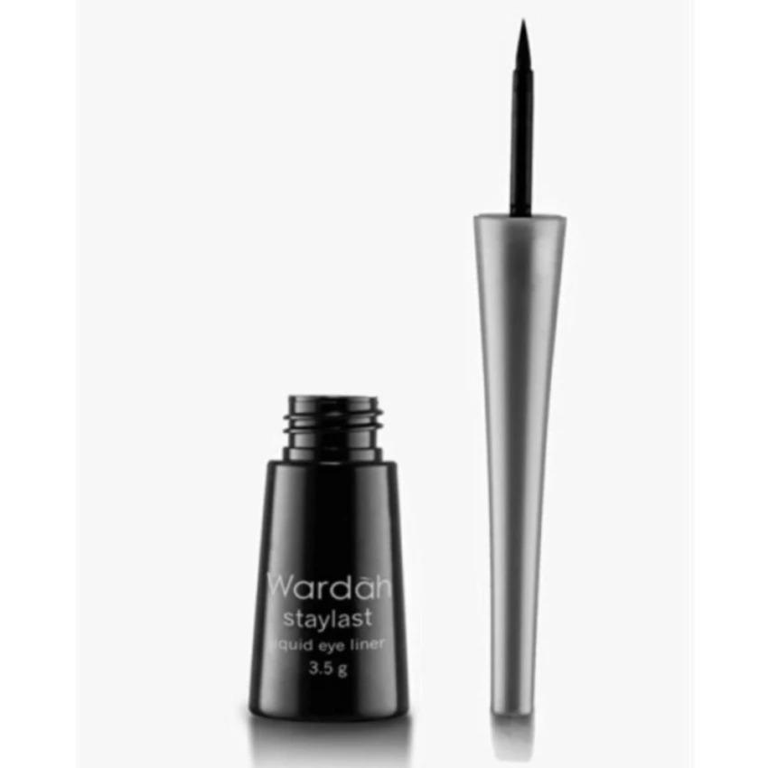 Wardah EyeXpert Staylast Waterproof Liquid Eyeliner - Black