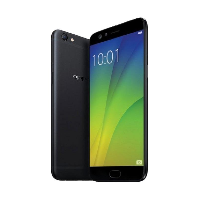 OPPO F3 Plus Smartphone - Black [RAM 4GB/64GB]