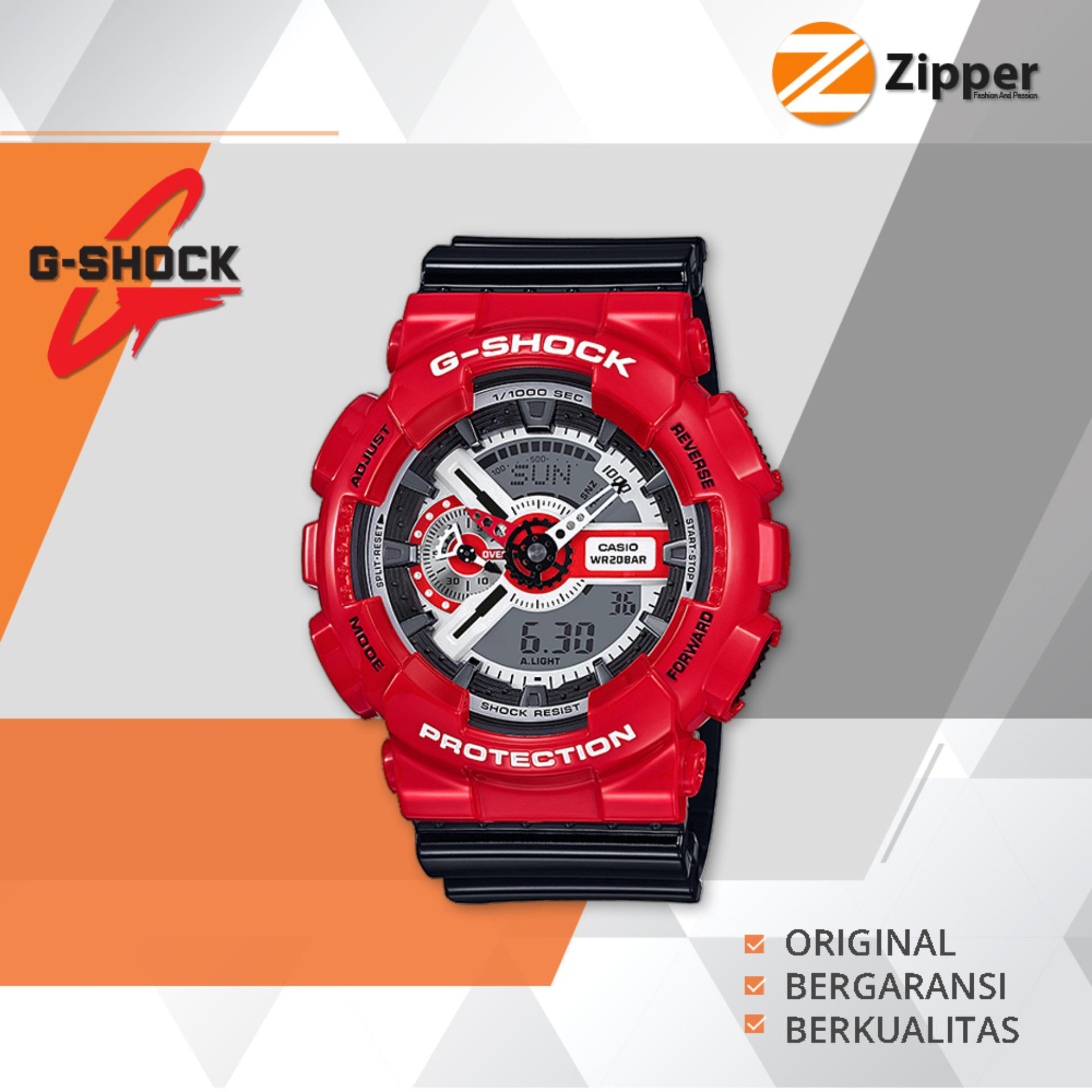 Casio G Shock Jam Tangan Pria Analog Digital Ga 110 Series Tali Karet Casio G Shock Diskon 30