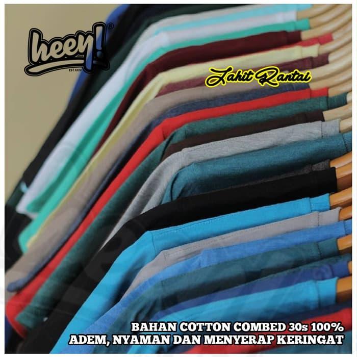 Detail Gambar Promo: Kaos Polos Big Size 2Xl 3Xl 4Xl 5Xl Jumbo Xxxl Xxxxl Cotton Combed 30S - Hitam - ready stock Terbaru