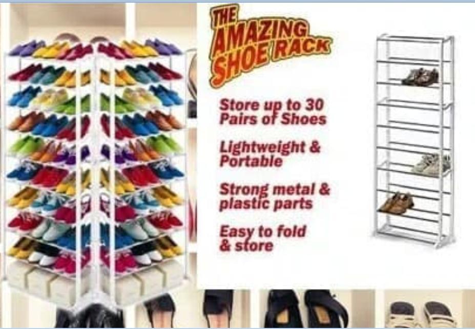Amazing Shoes Rack Rak Sepatu 10 Susun Rak Jilbab Portable - 2 .
